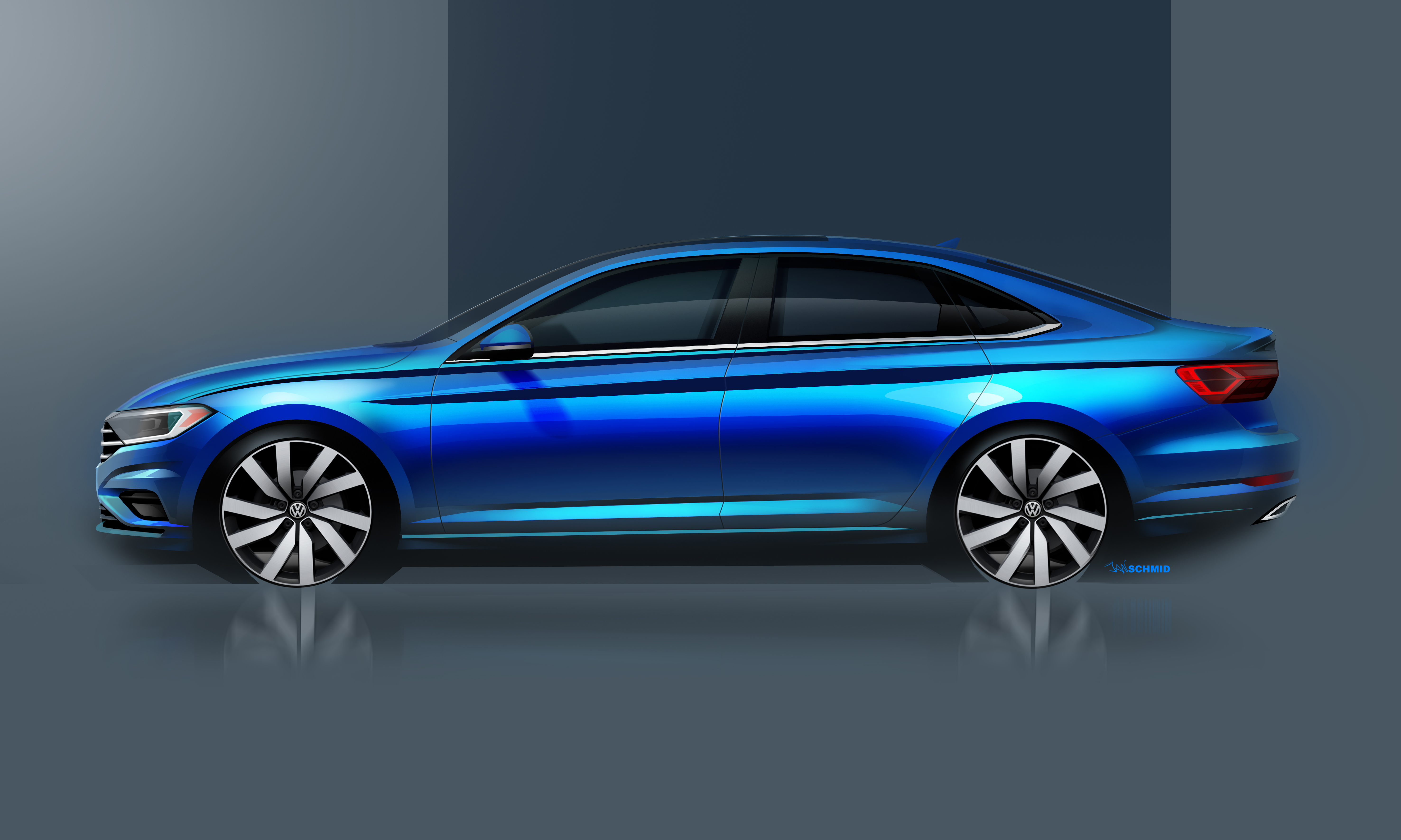 Volkswagen Teases Redesigned 2019 Jetta Ahead Of Detroit Auto Show