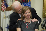 Joe Biden,  Stephanie Carter