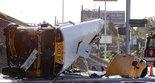 APTOPIX Houston School Bus Wreck