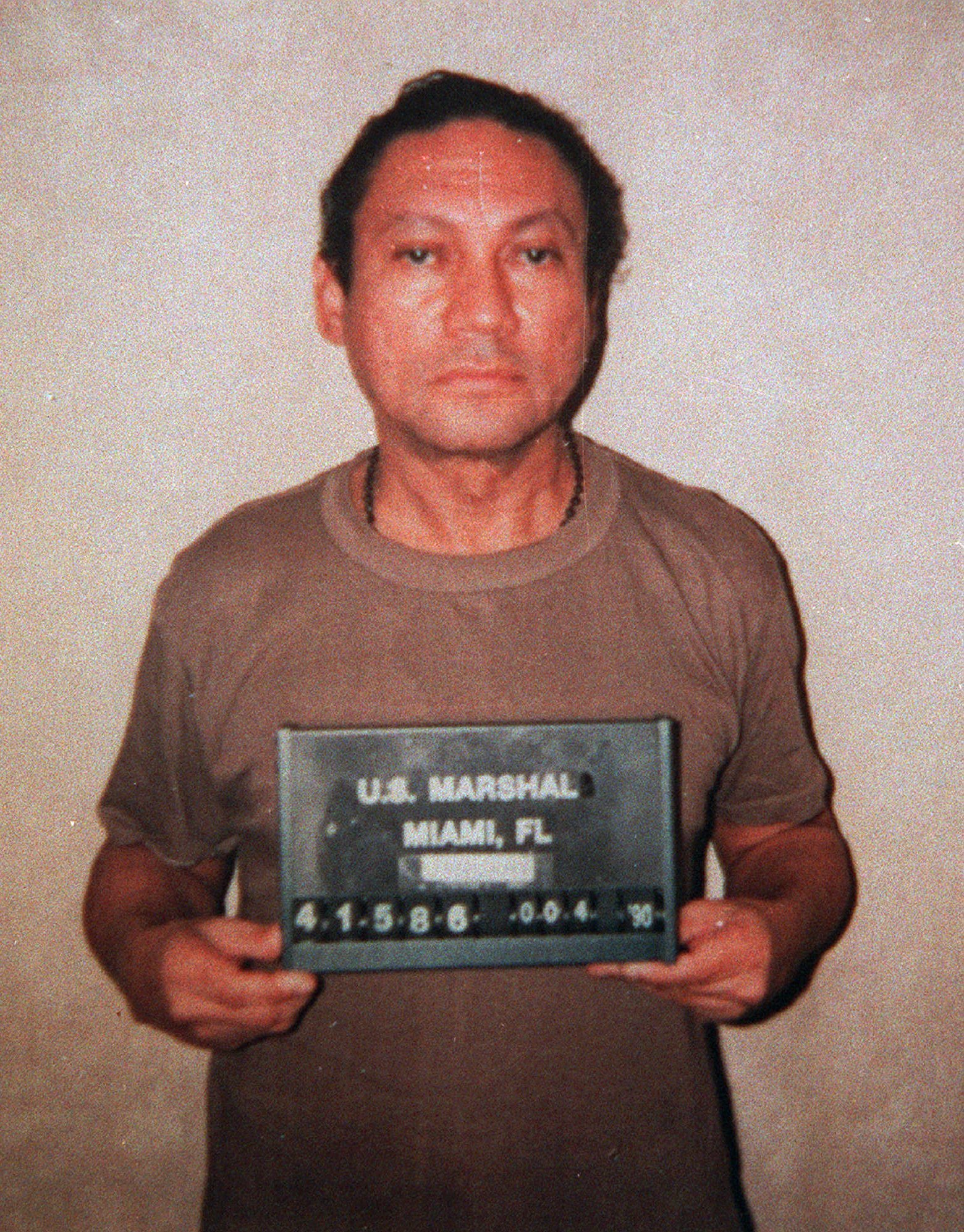 Manuel Noriega Former Panamanian Dictator Ousted By The