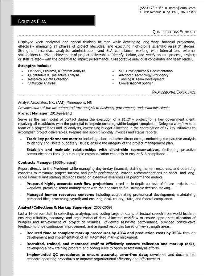 strategic positioning and prioritization on your resume is