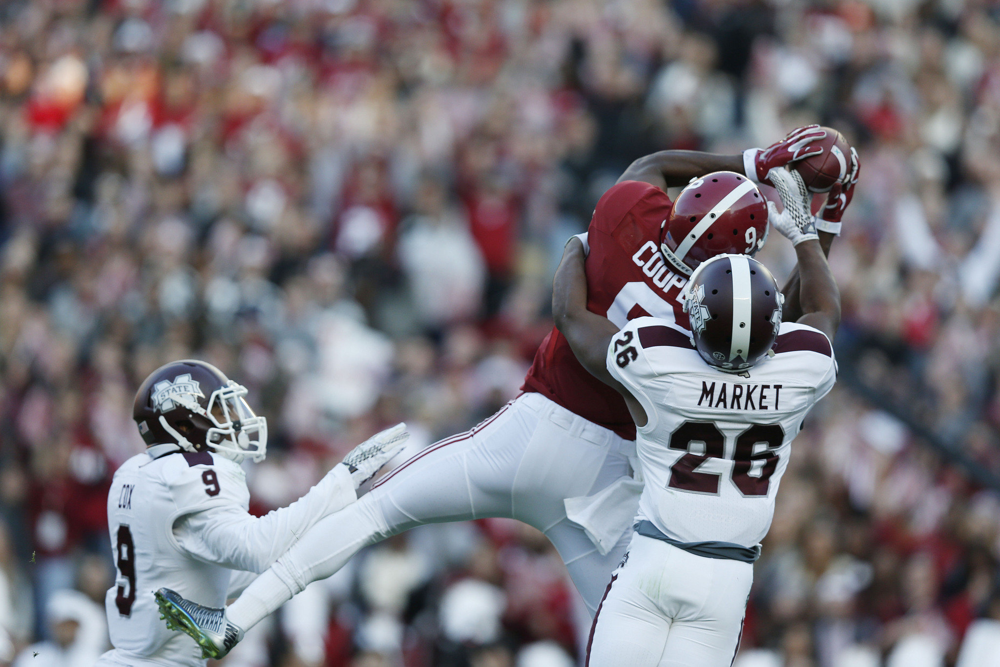 College football aftermath: Is Alabama No. 1 in College Football Playoff rankings after beating Mississippi State?