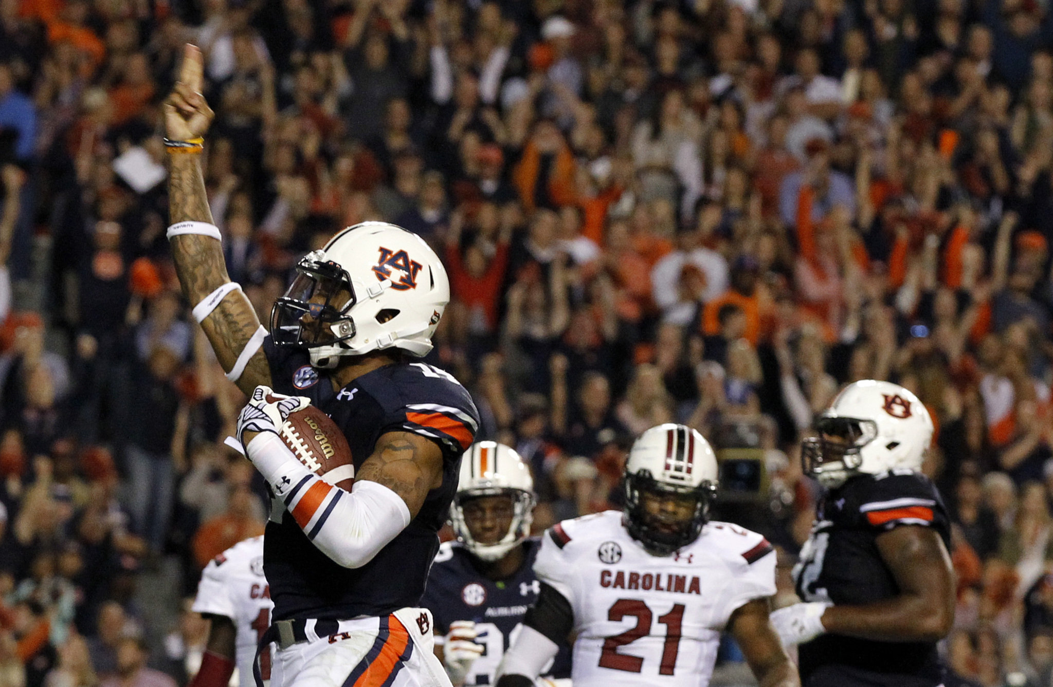 College Football Playoff 2014: Auburn roars back into the First Four in Week 9 of our poll