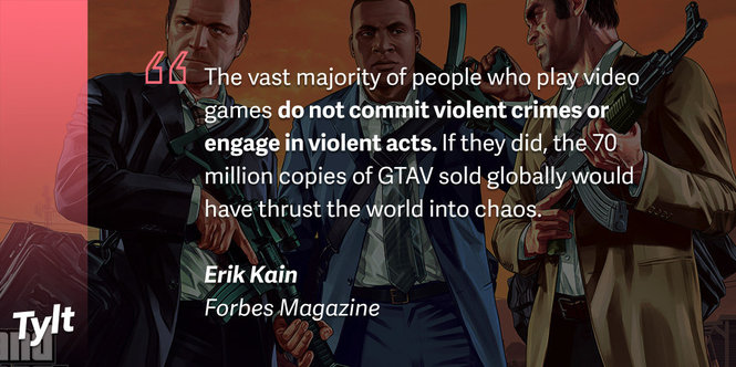 do violent video games lead t Do video games inspire violent behavior  but neither of those studies make the case that these games lead to real-word violence although drawing conclusions about small population.