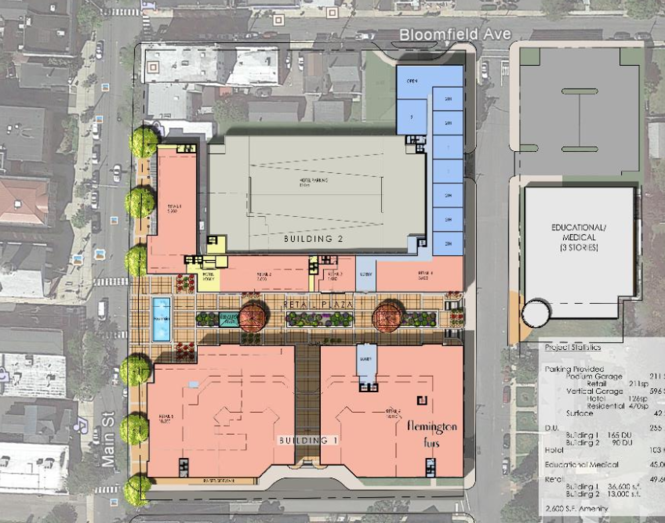 union hotel redevelopment area map