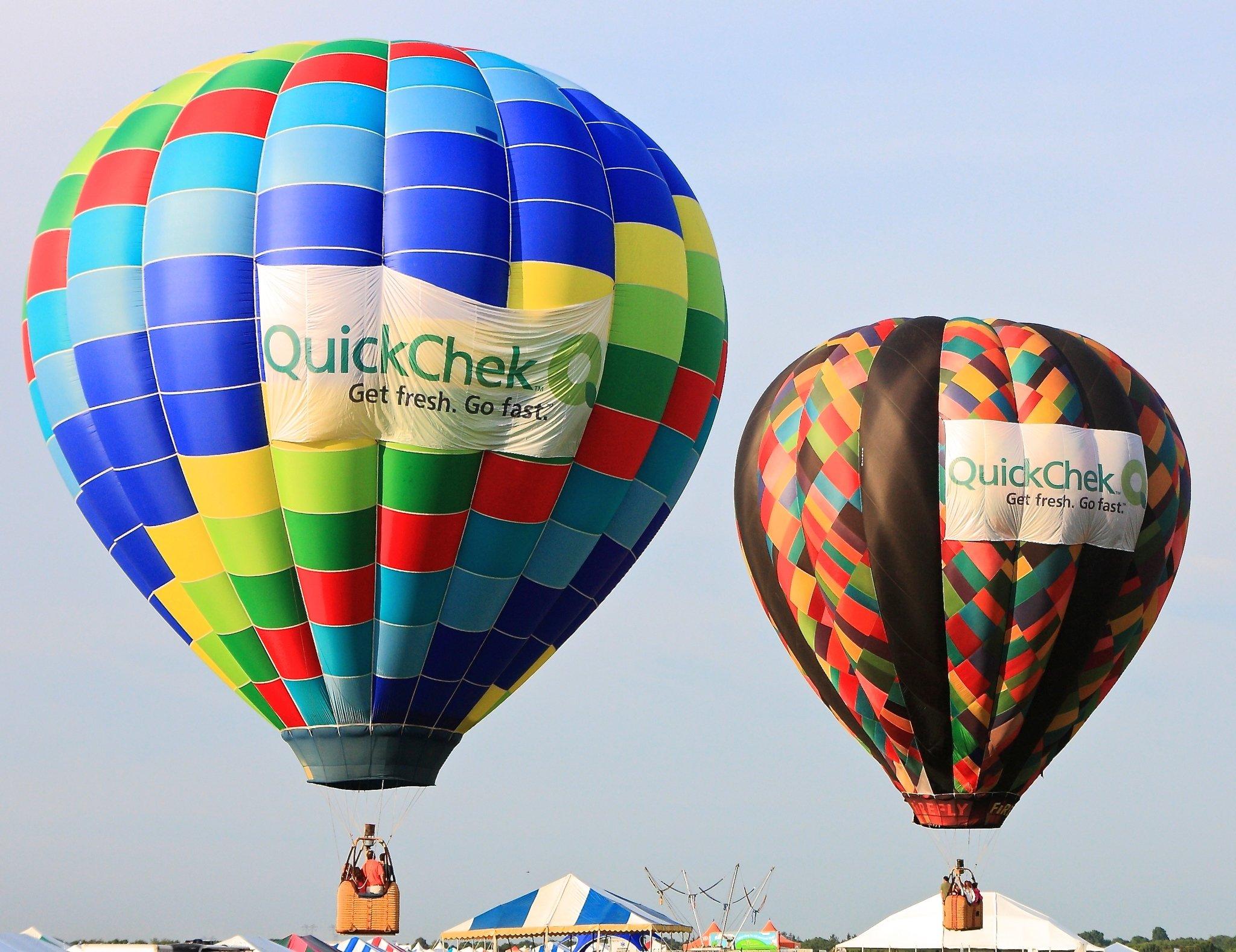 quick chek hot air balloon festival