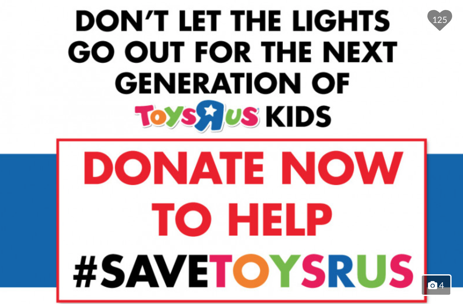 Would you donate to stop toys r us closing a gofundme needs 800m would you donate to stop toys r us closing a gofundme needs 800m nj falaconquin