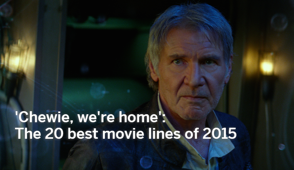 Great Movie Quotes Custom The 48 Best Movie Quotes Of 4815 MLive