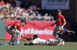 NLDS Nationals Giants Baseball