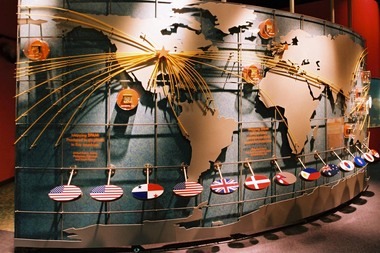 Spam Museum's Map