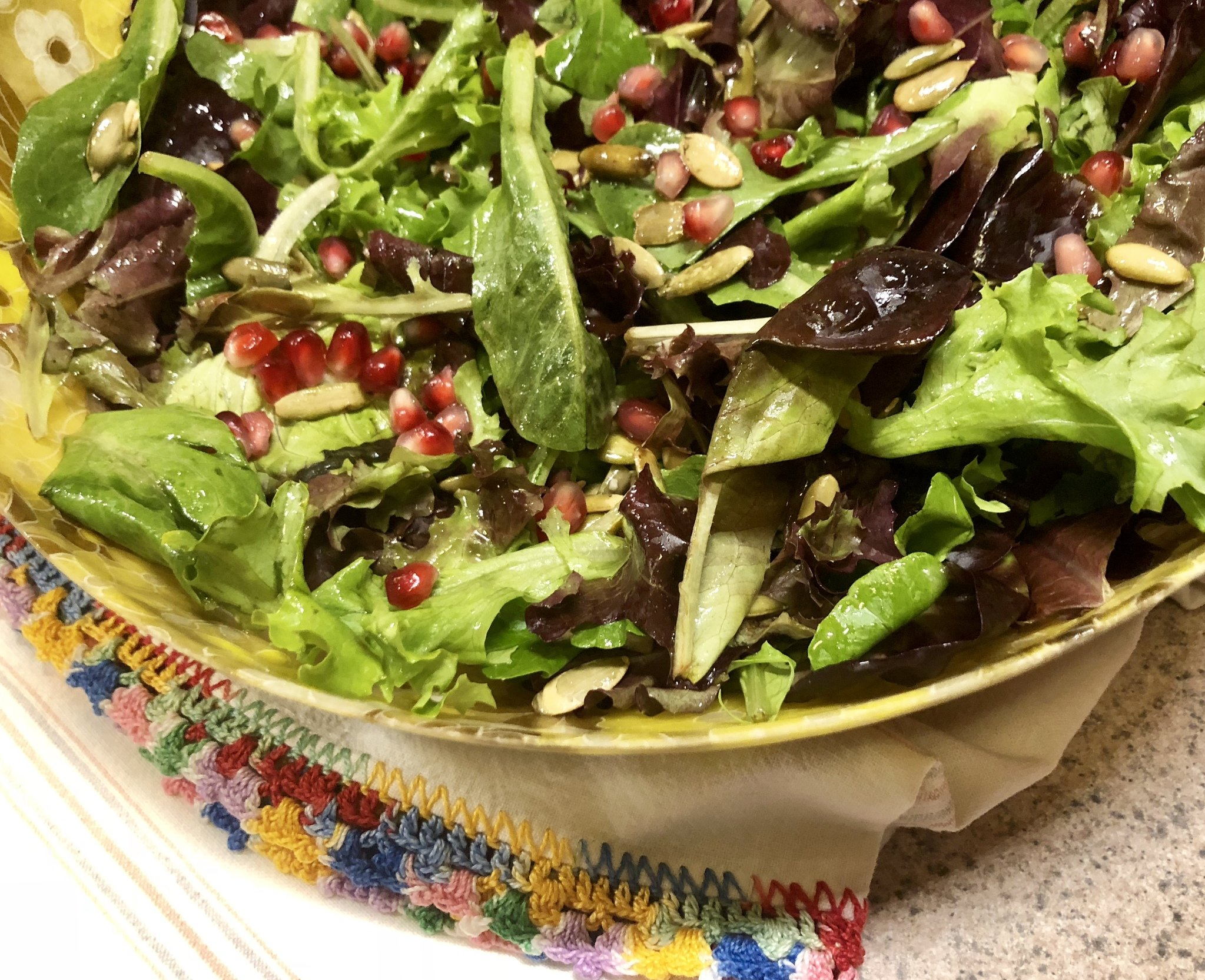 Tart and sweet, this dressing kicks salad up a couple of notches ...