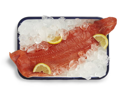 Proteins should come from nutrient-rich, lean ones, such as wild-caught fresh sockeye salmon filet. (Photo from Whole Foods Market)
