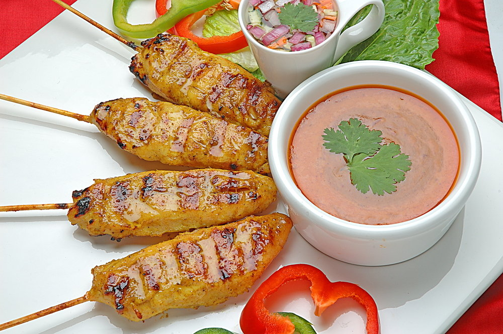 Satay An Easy Asian Appetizer Livens Up Holiday Buffets