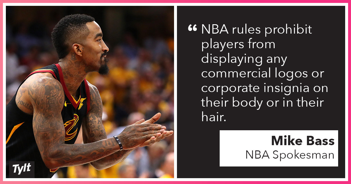 Should athletes be allowed to use their bodies as billboards?