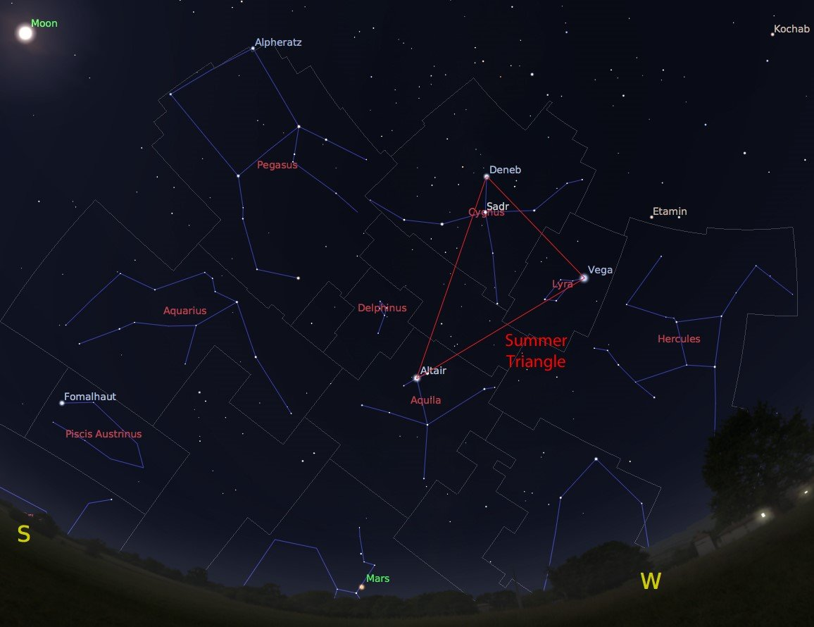 Upstate Ny Stargazing In October Prominent Constellations
