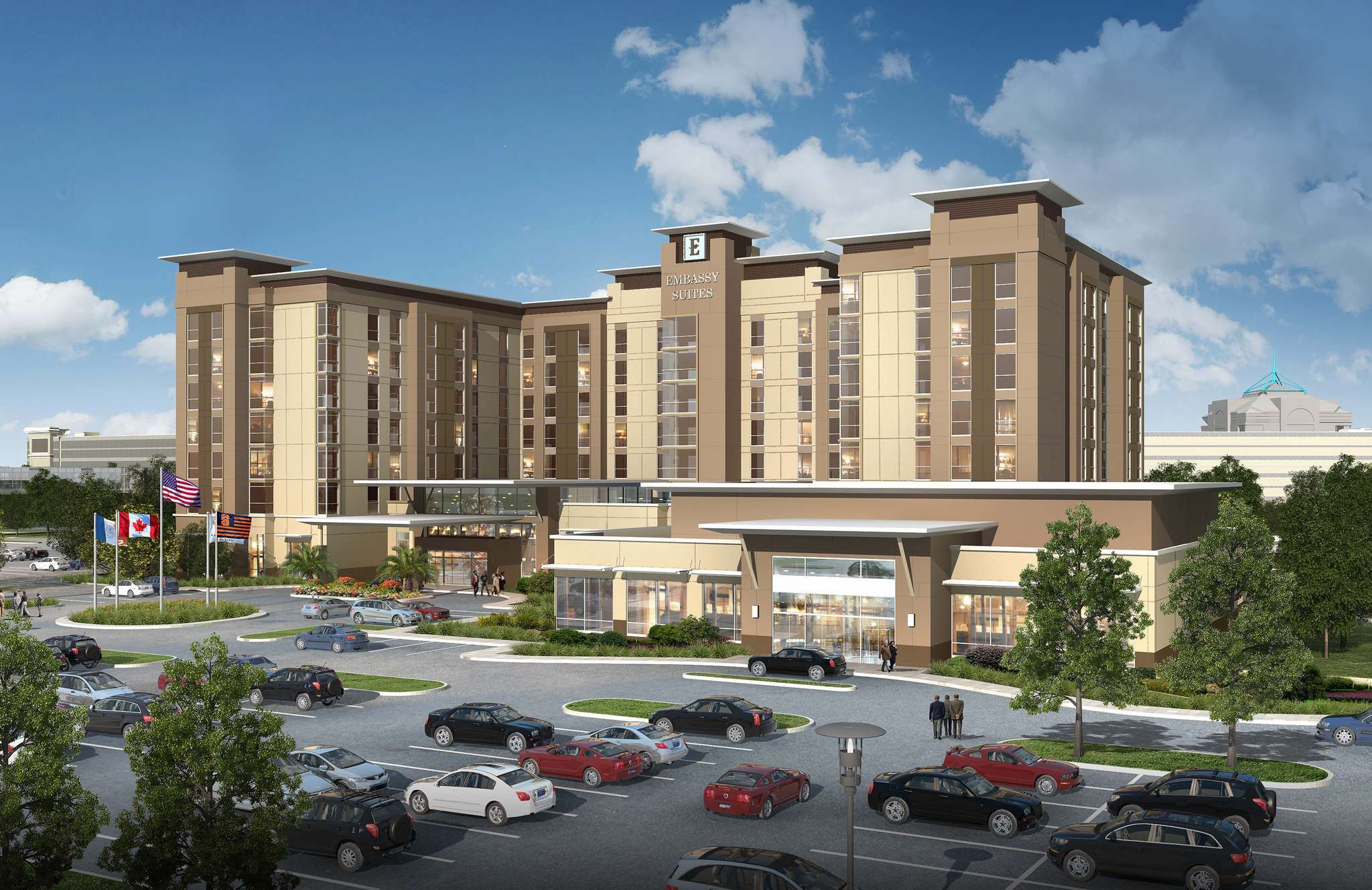 48 Million Destiny Usa Hotel To Open In Fall 2017 Partner Announced Syracuse