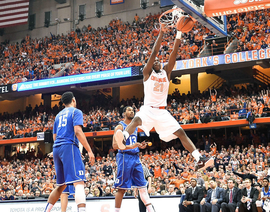 syracuse basketball schedule for 2016-17: acc releases matchups