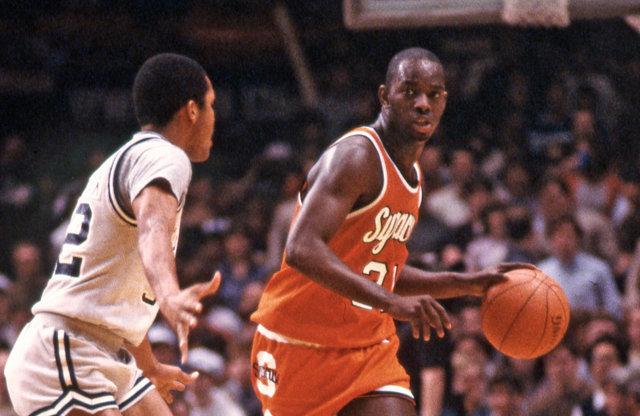 Syracuse Basketball Top 5 Pearl Washington Moments Vs Georgetown