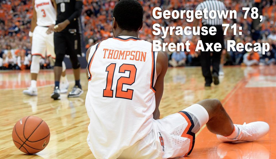 Despite flash of Lydon's potential, Syracuse dazed by Georgetown