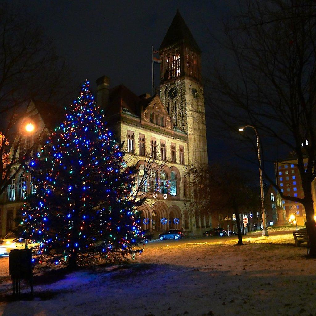 Christmas Tree In Ny: O Christmas Tree: See Photos Of City, Village, Town Trees