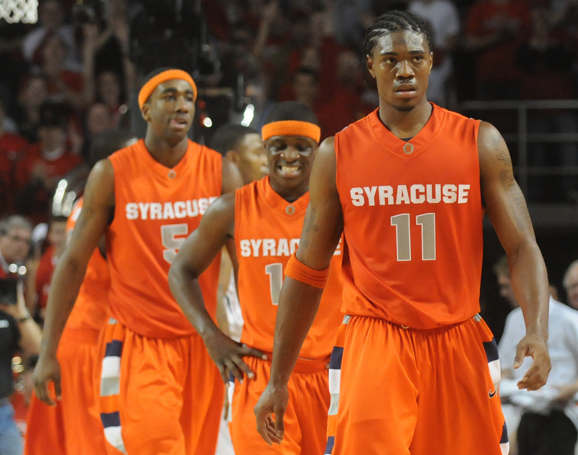 Syracuse Basketball S Roster Will Be Youngest In A Decade Next Year