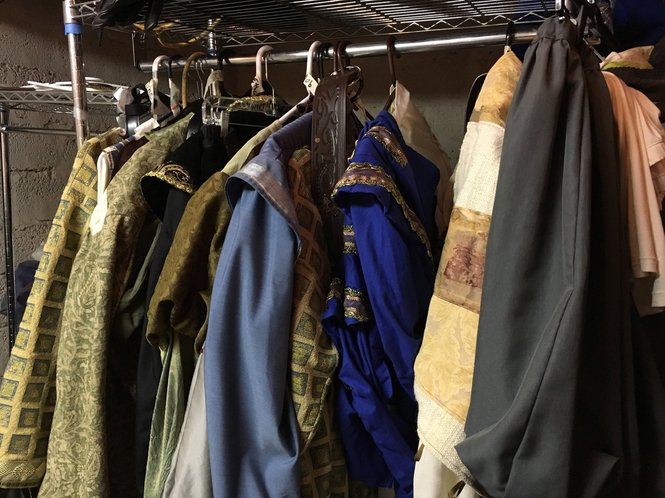 Shakespeare in the Park: costumes