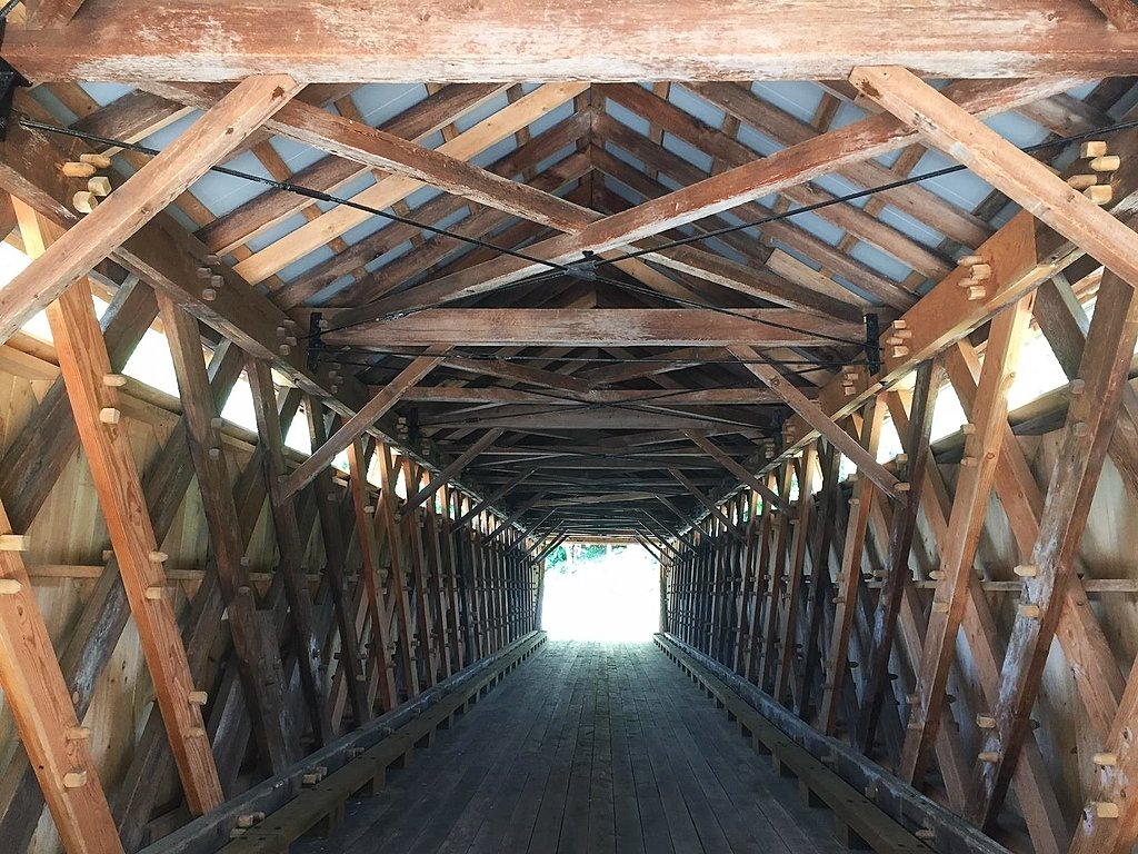 Upstate Ny Covered Bridge Receives 2 6m Makeover