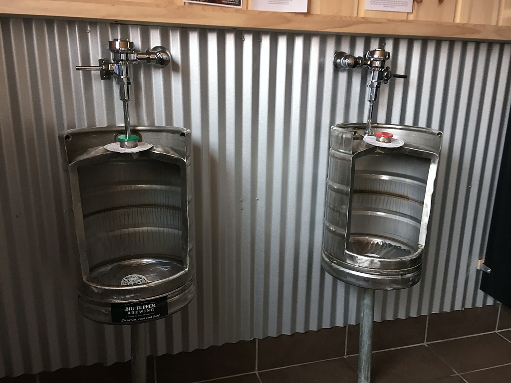 Beer Keg Urinals Yes They Are Becoming A Thing In