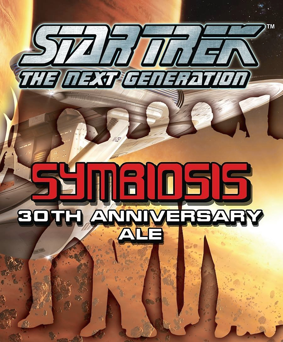 Symbiosis, a new beer from Shmaltz Brewing Co. in Clifton Park, N.Y. marks the 30th anniversary of the series, ''Star Trek: The Next Generation.''