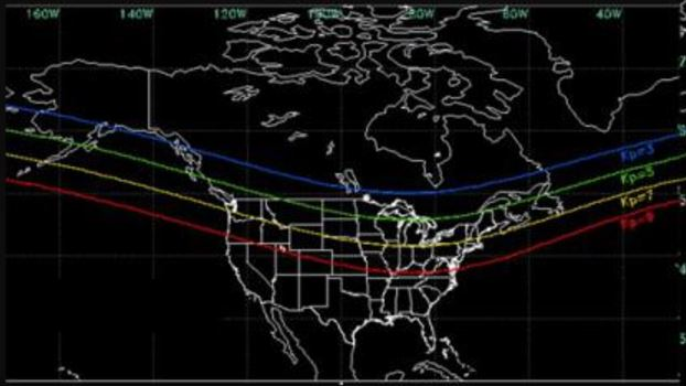 Northern lights may be visible in Heartland tonight