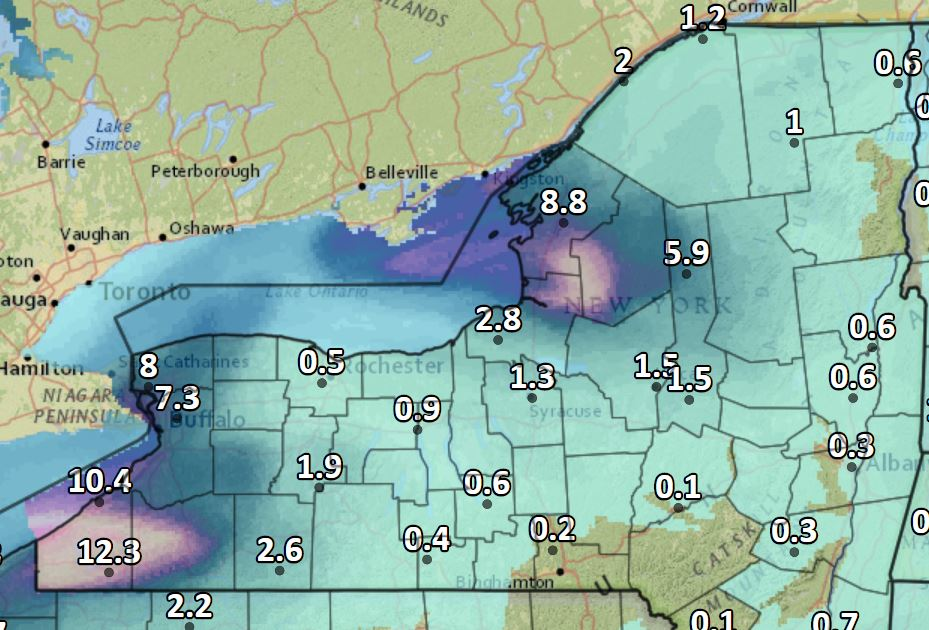 More Snow Headed for the Southern Tier