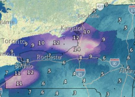 Meteorologists: Wintry weather expected in most of IL