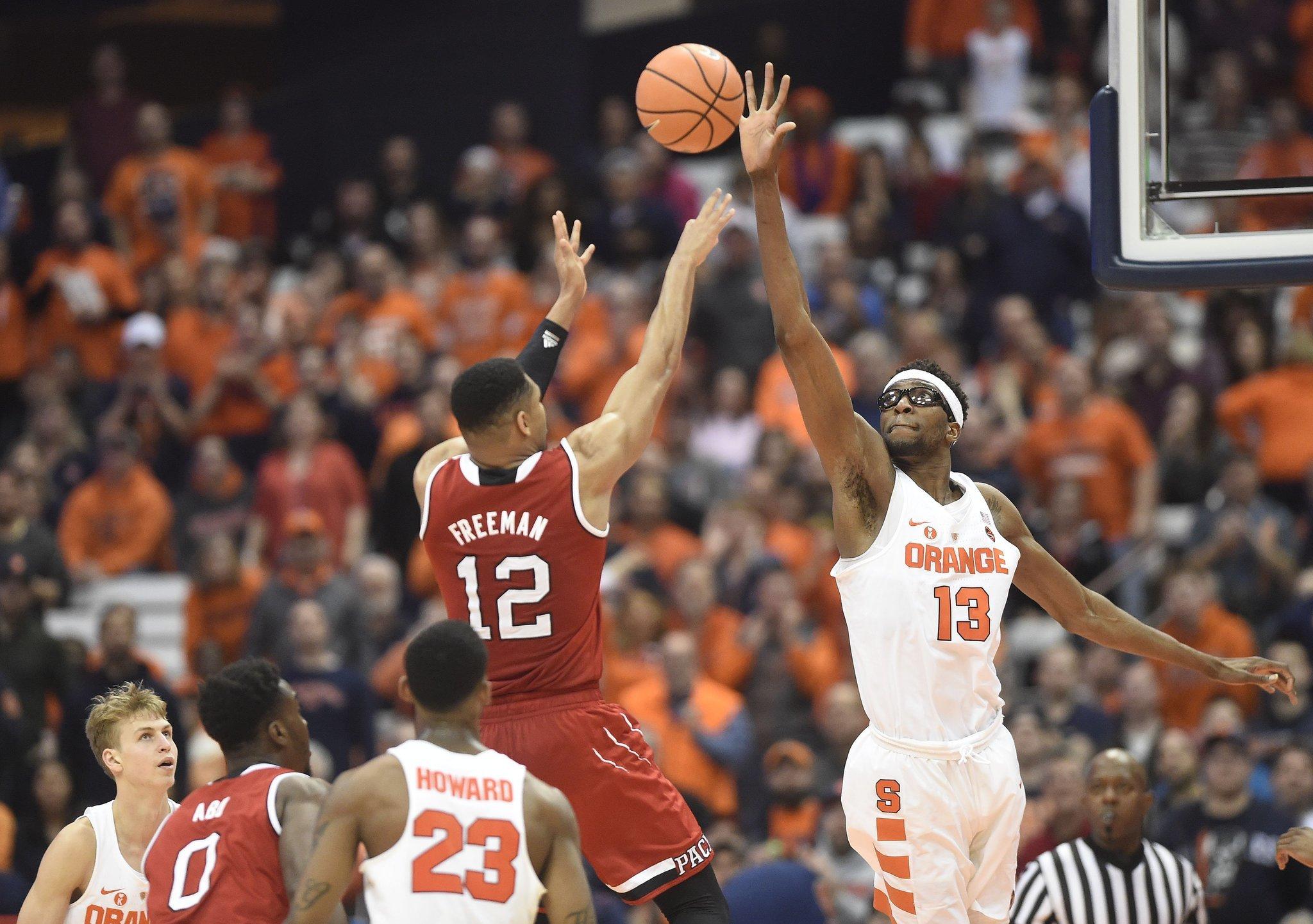 Syracuse Basketball S Ncaa Tournament Resume Has Orange S Bubble