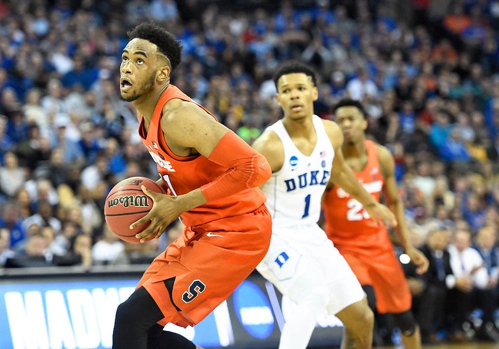 Syracuse basketball forward Oshae Brissett discusses future (video) | syracuse.com