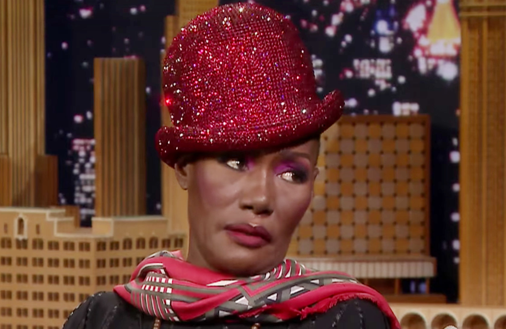 Grace Jones reflects on moving from Jamaica to snowy Syracuse: 'It was awful'