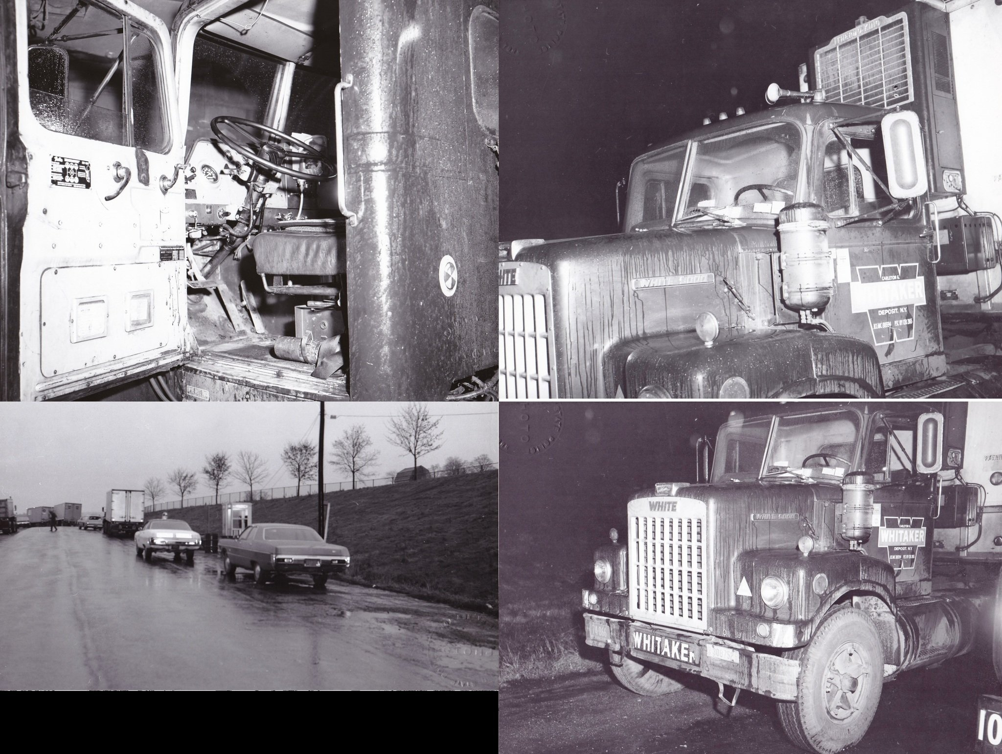 Who shot, killed truck driver near LaFayette in 1972? Police