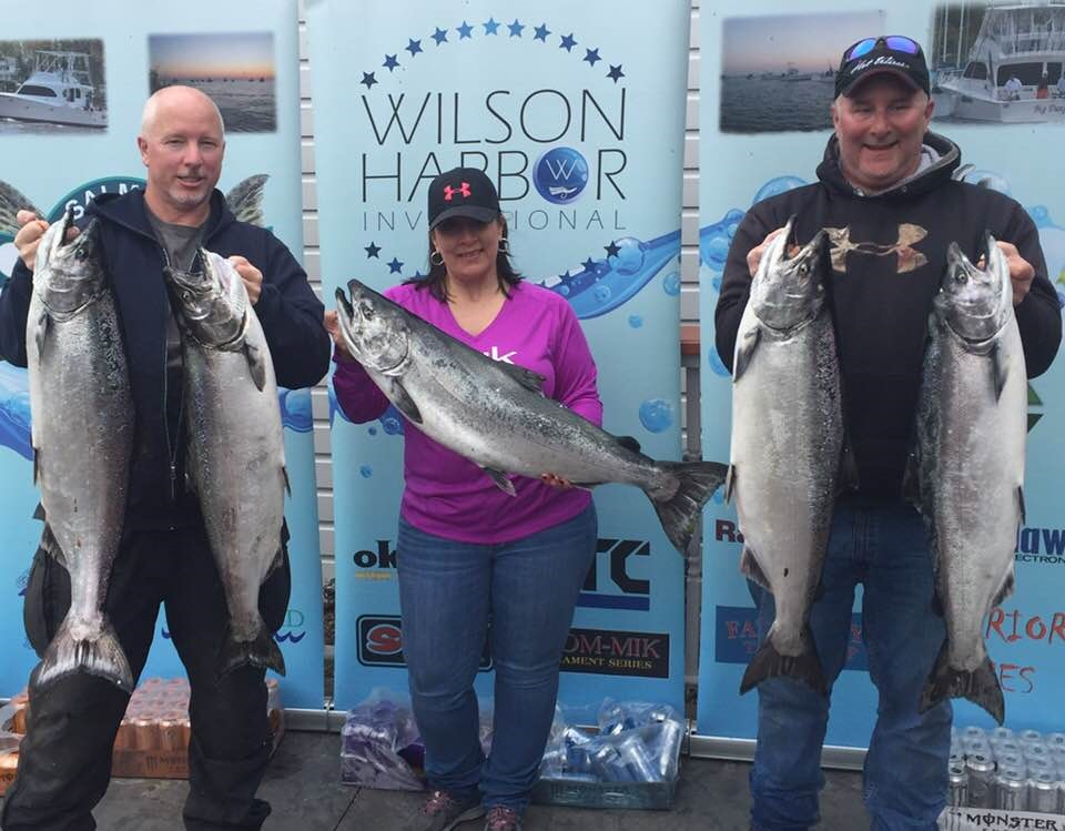 Best year in memory lake ontario spring fishing is 39 on for Franks great outdoors fishing report