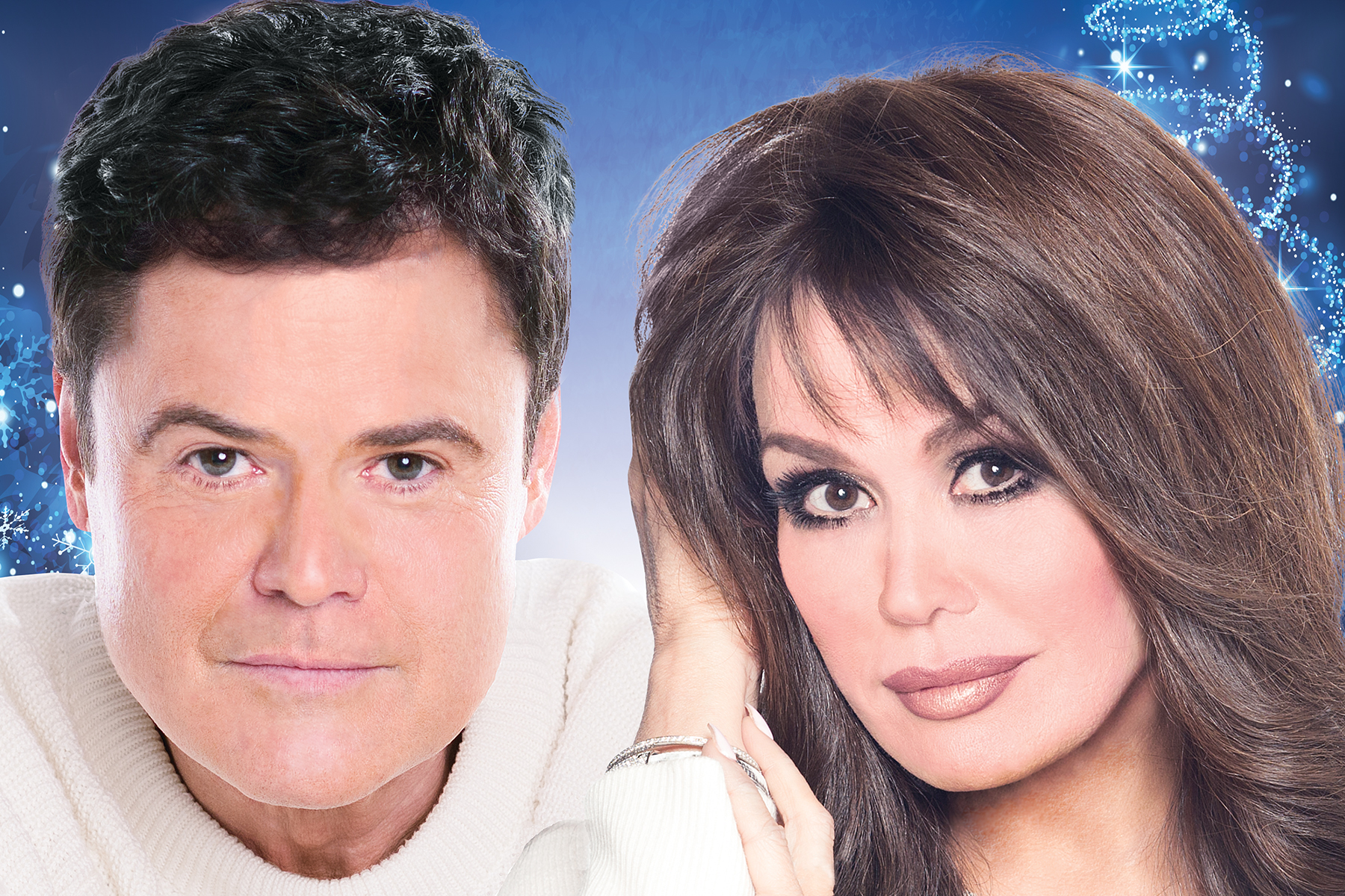 Donny And Marie Osmond Bringing Holiday Tour To Turning Stone Casino