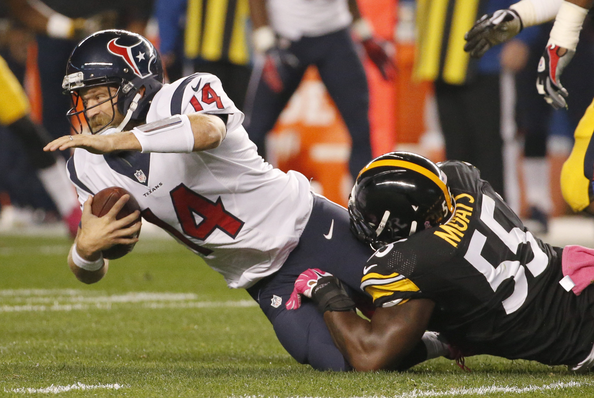 Texans self-destruct in 30-23 loss to Steelers: Monday Night Football