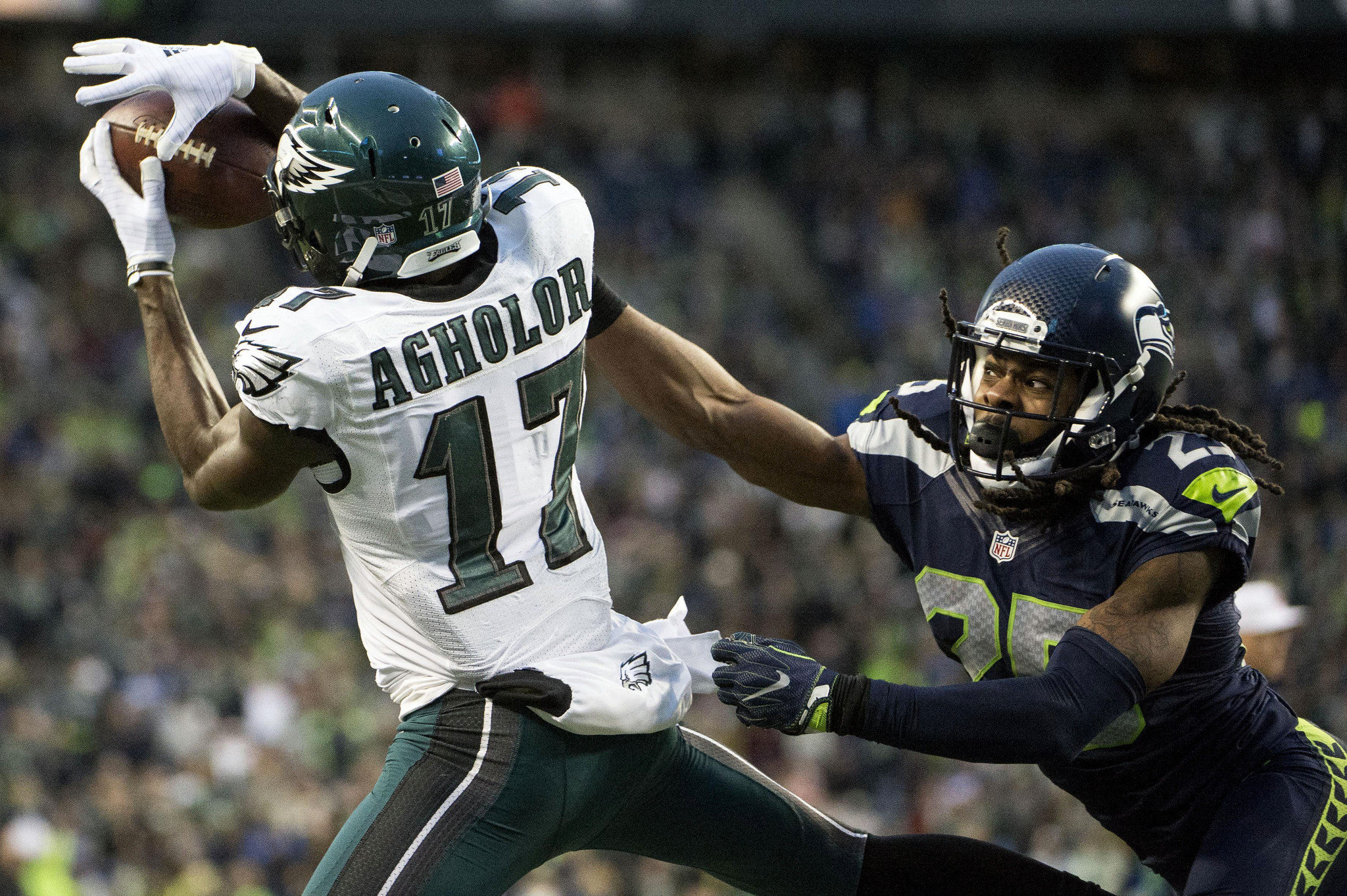 3e744145d8b ... White Nelson Agholor Nike Womens Elite Philadelphia Eagles Platinum 17  NFL Jersey WATCH Eagles Nelson Agholor opens up about his poor play after  loss to ...