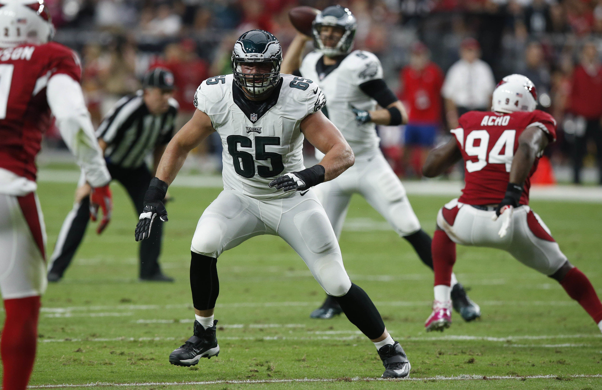 Lane Johnson returns to Eagles should play against Giants