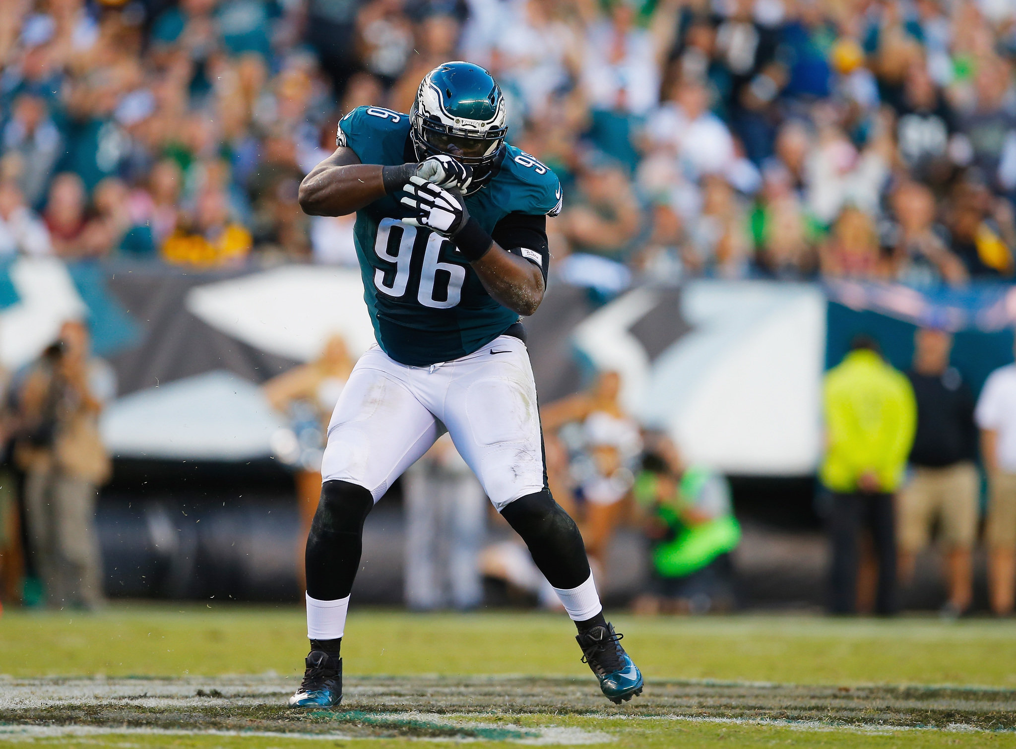 Eagles Bennie Logan doesn t want to test free agency