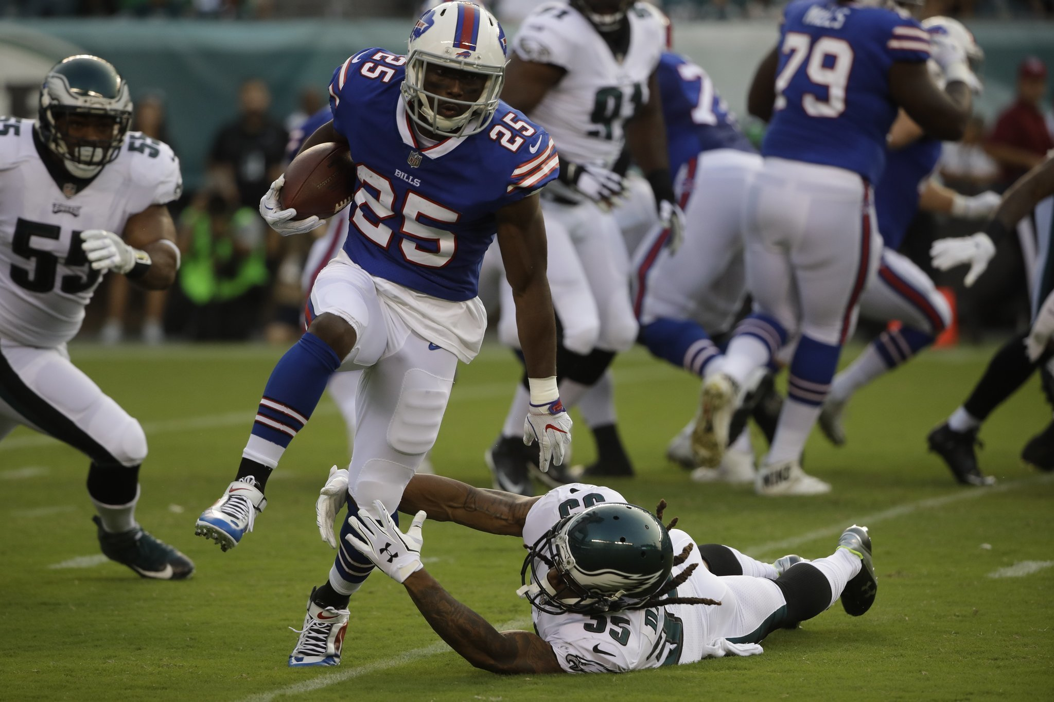 Who the hell is Kiko Alonso Bills LeSean McCoy reflects on