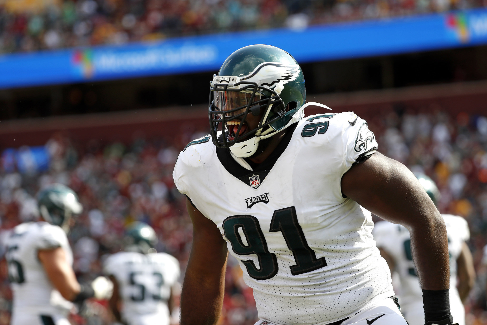 Eagles 4 Downs Fletcher Cox talks phone call with Andy Reid when