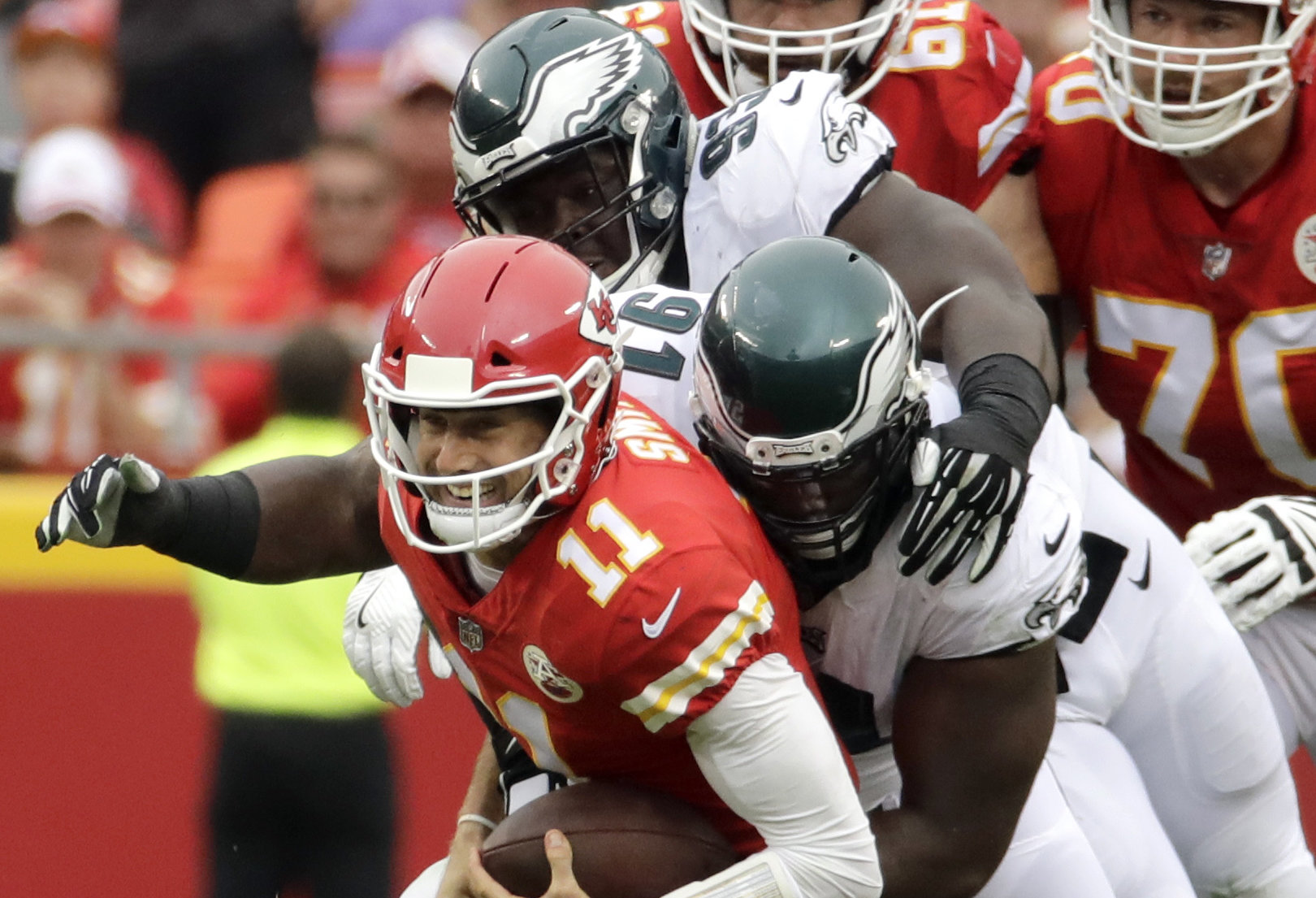Will Fletcher Cox Jordan Hicks play against Chargers Eagles fans