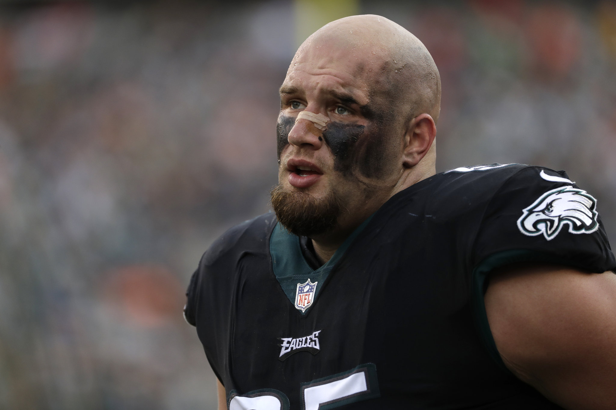 Eagles Lane Johnson least helped NFL offensive tackle