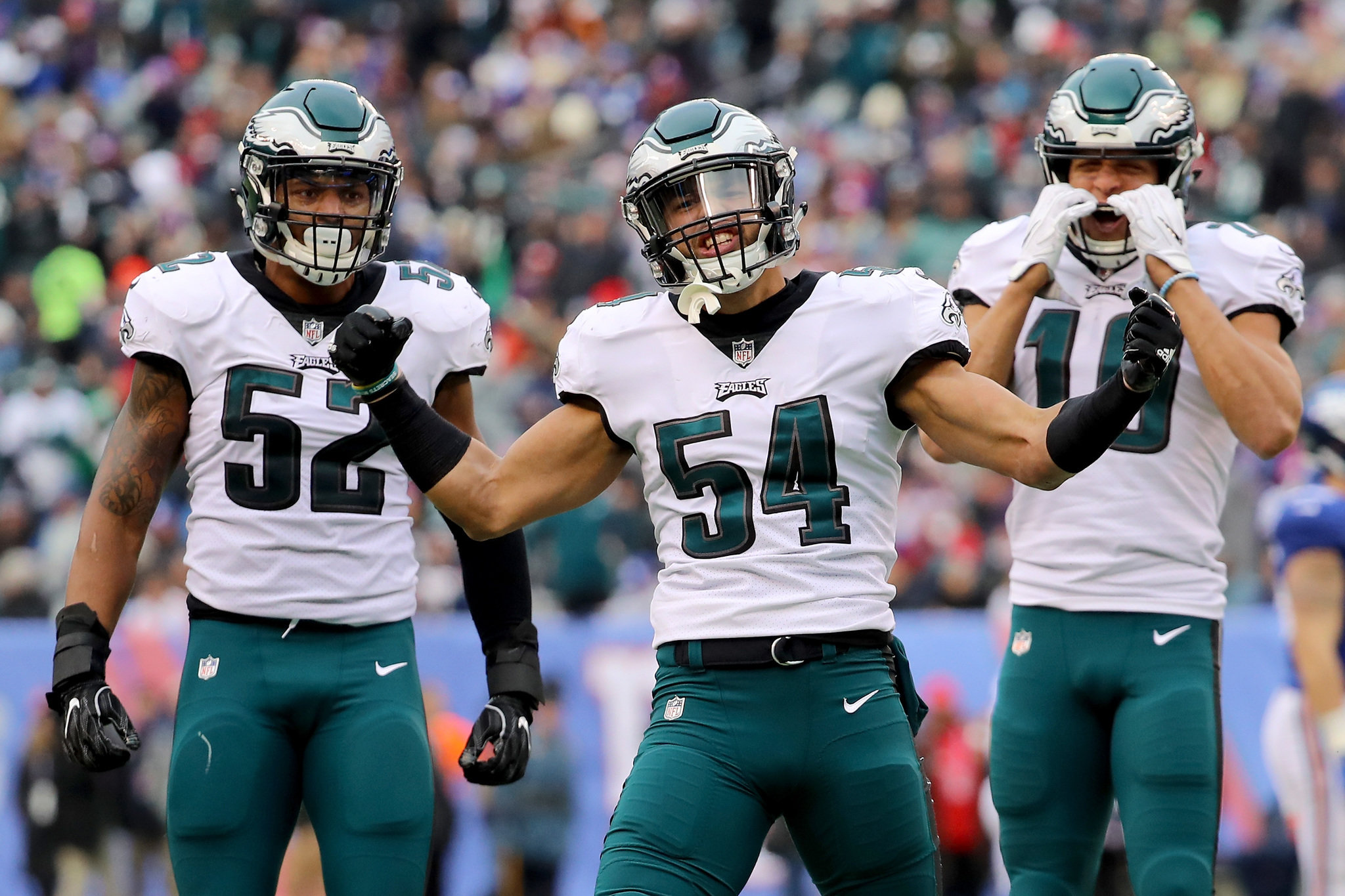 how does 2017 nfc playoff race stand can vikings saints catch eagles for no 1 seed nj com