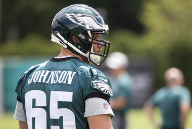 Eagles' Lane Johnson added to injury report, questionable for Giants game | What it means for the offense if he can't play
