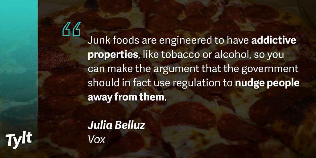 the u s government should tax junk Should junk food be taxed government's halloween tax costume a sugar-sweetened beverages tax act 2) 26 us states have implemented a soda tax act.