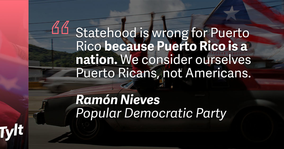 puerto rico should stay commonwealth Last november, with all the hubbub surrounding the presidential election, you may have missed a historic moment for the little caribbean island of puerto rico for the first time, the.
